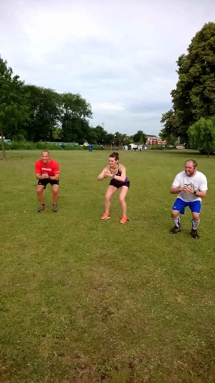 Great weather to start the day with a fantastic workout! Really brilliant effort this morning. See you all next week!