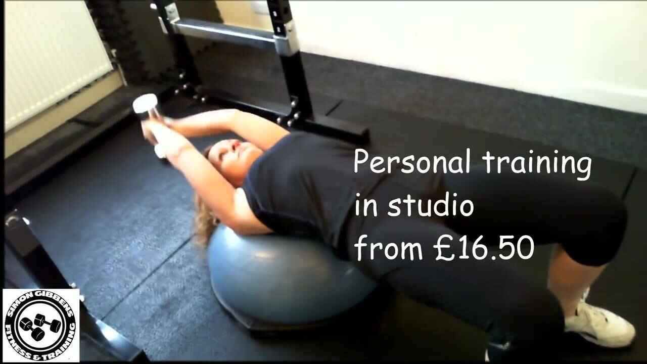 Personal training from £16.50