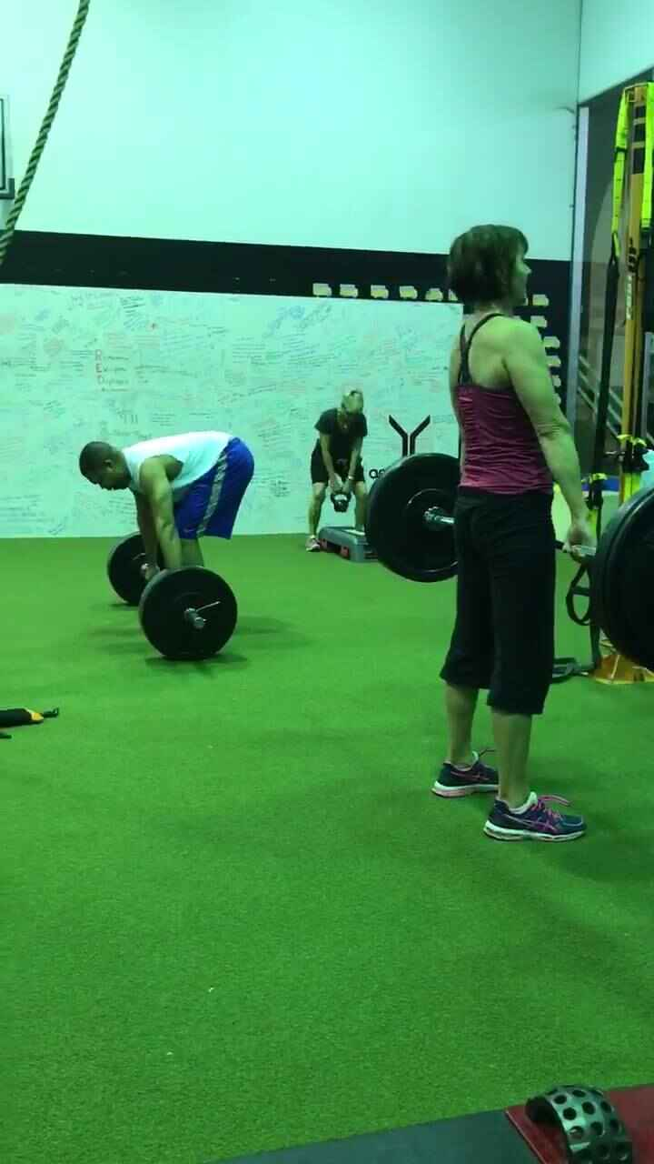 Deadlifts and Burpees!