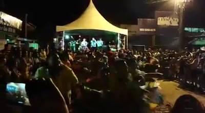 As Quadrilhas Juninas deram um show de enovação, muitos aplausos e alegrias que contagiaram a multidão, parabéns torrelâ...