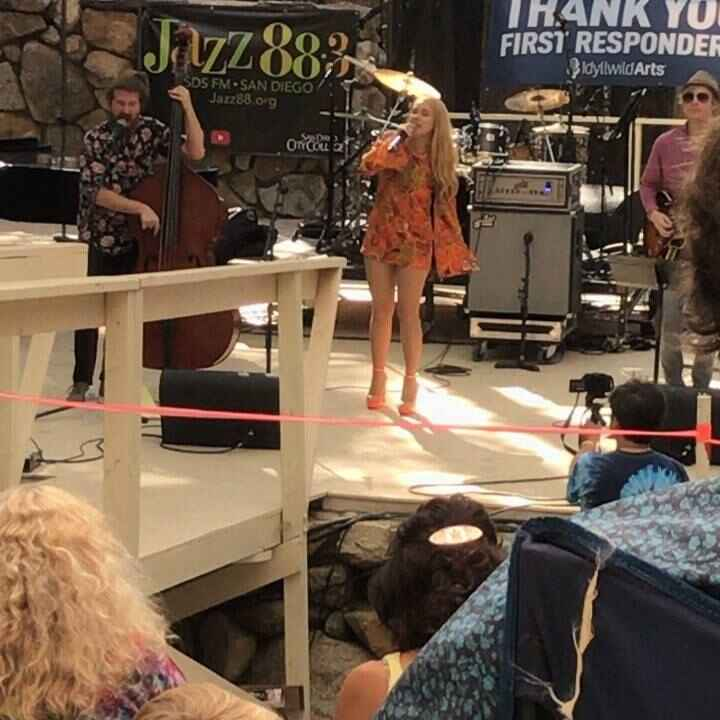 What an amazing time at the Jazz in the Pines in Idyllwild with Casey Abrams and Haley Reinhart.