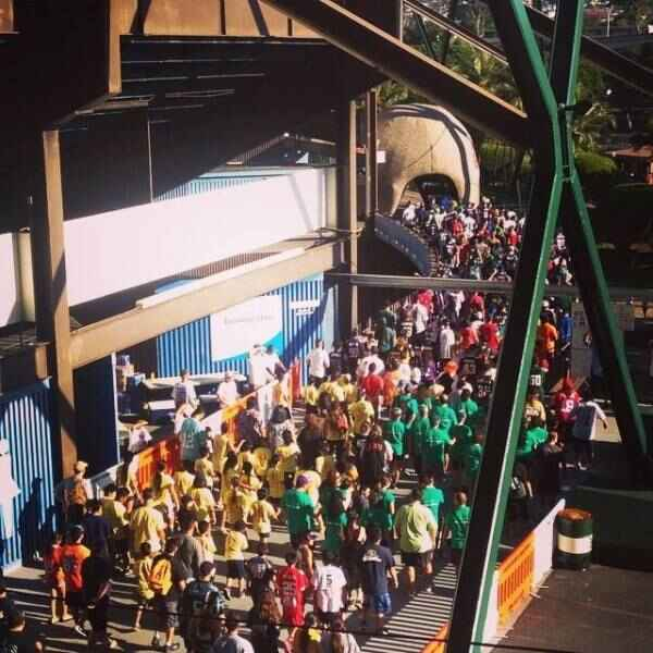 And they are Off! The 2015 Jersey Fun Run started off with a bang. It was so nice to see so many team represented! #Repr...