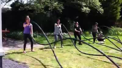 Impressie Backyard Bootcamp Sessions 17 mei: