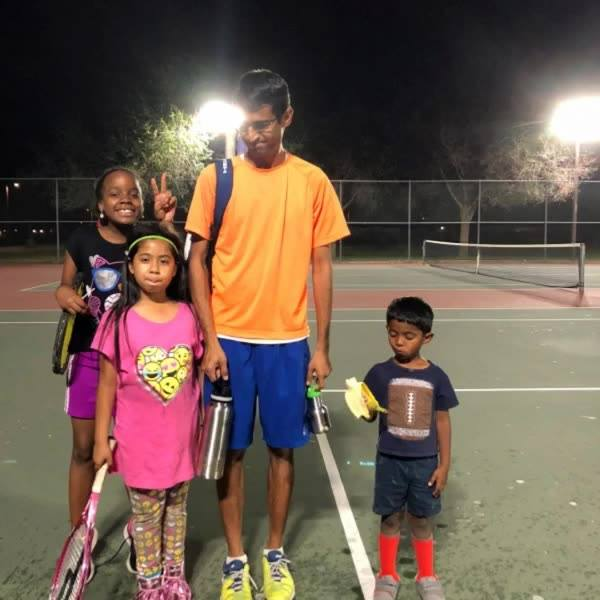 Update on r grassroots program! 2018. Kids with Coach Kat at Mariposa Park. My grandkids joining in too!! As always I ca...