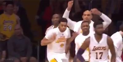 Kobe not so impressed