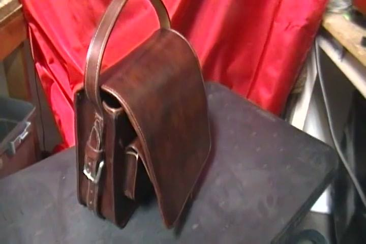 Custom made Man Bag/conceal carry by Raul III Az Boot and Saddle