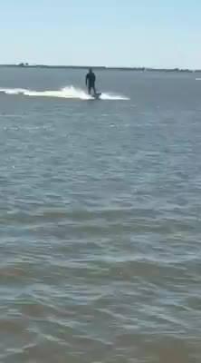 Jet surfboard more fun