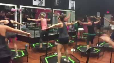 So many options! Only at Studio Pink Fit! *EarlyJUMP: Wakeup & JumpUp at 5:30am!*Jumping Fitness: Signature Jumping clas...