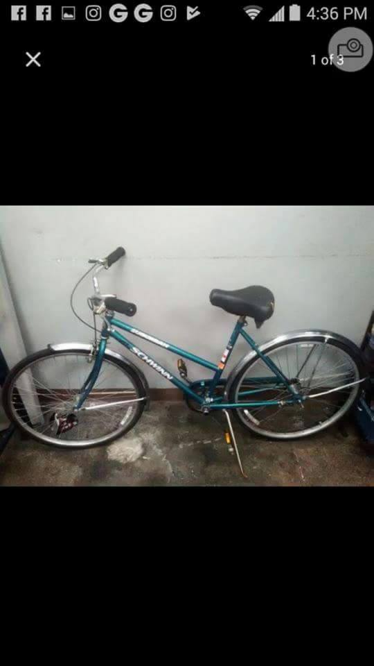 Used suburban schwinn48cm Single speed The whole bike is tuned up and ready to goBreaks and gears are adjusted  rims hav...