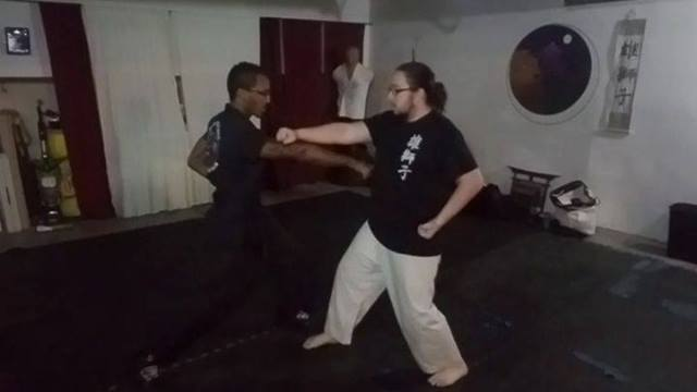 Working on the bunkai (application) of the kata Heian Nidan in class today made me think of the application of basic tec...