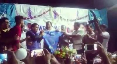 Exclusive video of Former Indian Captain Mohammed Azharuddeen unveiling the brand new jersey of Yafa Thayalangadi. Thank...