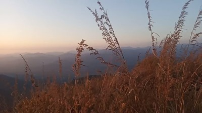 Evening unfolding at Tabor Hills in Western Ghats,North Malabar , Kerala