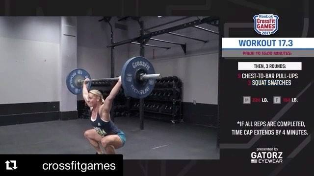 🏋💣Who's doing the 17.3 tomorrow?! Test your skills @ 6am, 9am or 6pm tomorrow. ✋️😵 Hope to see you out there!🤸♂️#BECOAS...